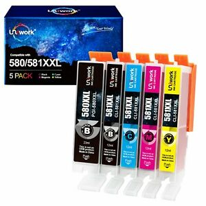5 PGI580 CLI581 XXL DRUCKER PATRONEN für CANON PIXMA TR7550 TR8550 TS6150 TS6151