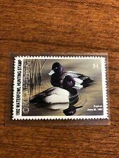 1992Us Utah Waterfowl Duck Stamp
