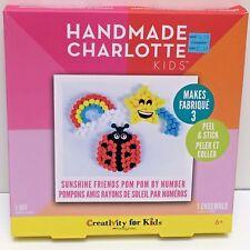 Crafts for Kids 6+, SUNSHINE FRIENDS POM POM BY NUMBER, New, Gift