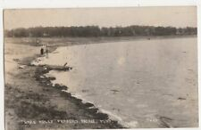 USA, Lake Adley, Parkers Prairie, Minn. 1931 RP Postcard, B420