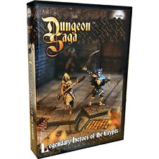 Dungeon Saga, Legendary Heroes of the Crypts, Expansion Kit, New