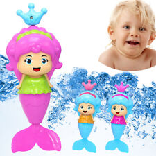 Bath Tub Fun Swimming Baby Bath Toy Mermaid Wind Up Floating Water Toy For Kid A