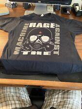 rage against the machine t shirt 2010