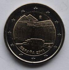 SPAIN - 2 € Euro commemorative coin 2011 - World Heritage series Alhambra UNC