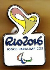 RIO 2016. PARALYMPIC GAMES. NOC PIN. BRAZIL. THE LARGE ONE