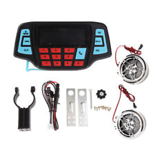 Waterproof Motorcycle UTV ATV Audio Radio Sound System Stereo Speakers