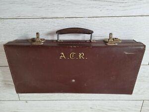 Vintage Masonic Case & Regalia Kent Lodge Lot of Used Items Props 3 x Aprons