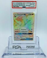 2017 Sun & Moon Burning Shadows Charizard GX #150 Secret Rare PSA 10 Gem Mint🔥