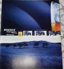 Prospekt / brochure DÉPLIANT RENAULT KANGOO 4X4  FAIRWAY - 12/2002 - NEUF