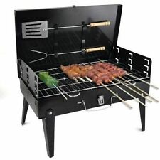 Portable Briefcase Style Folding Barbecue Grill Toaster Barbeque - BBQ