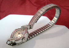 VINTAGE LONGINES 14K WHITE GOLD CASE LADIES WATCH SWISS MADE