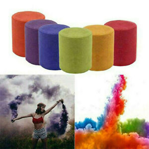 Multi Colors Smoke Effect Cake Shows Bomb Stage Party Photography Aiding Toys 6*