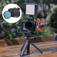 ULANZI G8-5 Metal Vlog Camera Cage w/52mm Filter Adapter for Gopro Hero 8 Black
