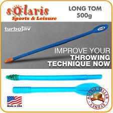 TURBOJAV 500g Long Tom Plastic Javelin Track & Field Throwing Training Equipment