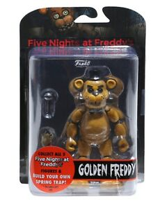 Funko Five Nights at Freddy's: Golden Freddy Action Figure #8850
