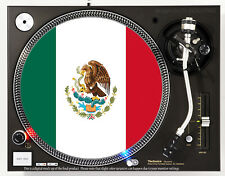 MEXICO FLAG - DJ SLIPMAT 1200's or any turntable, record player