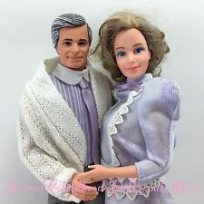 Barbie 1980s HEART FAMILY GRANDPARENTS Grandpa Grandma Doll Clothes Shoes Y1