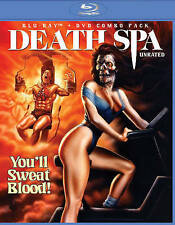 Death Spa Blu-ray/DVD 2Disc NEW HORROR SEXY WORKOUT GIRLS NEKKID HAPPY HALLOWEEN
