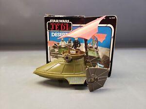 Vintage Kenner Star Wars Return of the Jedi Desert Sail Skiff Vehicle w/ Box