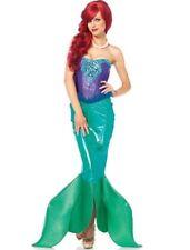 Deep Sea Siren Mermaid Fin 2pc Costume Ariel Adult Small (Leg Avenue 85368)