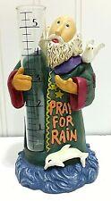 New listing Pray For Rain Gauge Noah Ark Religious Statue Outdoor Garden Decor Dove Dolphin