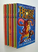 Beast Quest Series 4 Amulet of Avantia 6 Books  Adam Blade Boy Adventure Fun New