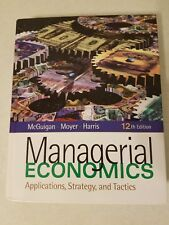 MANAGERIAL ECONOMICS APPLICATIONS, STRATEGY, AND TACTICS BOOK ONLY 12TH EDITION