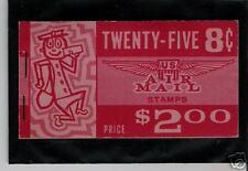 #BKC13 1962 #C64b SLOGAN 2 $2 AIRMAIL BOOKLET ISSUE