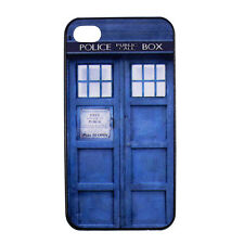 Tardis Doctor Dr Who Police Box Hard Back Case Cover for iPhone 4 4S 4G 4th