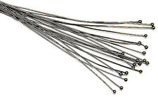 "20 Piece Gun Metal Plated Head Pin 3"" Long 2mm Ball 22 Gauge Wire Beading Craft"
