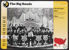 THE BIG BANDS Tommy Dorsey Orchestra Photo GROLIER STORY OF AMERICA CARD