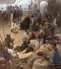 """""""Journey of Hope and Prosperity"""" Mian Situ Canvas"""