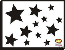 34 Stars Flowers Car Nursery Stickers decals GRAPHICS ANY COLOUR BODY PANEL SURF