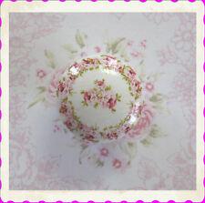 Pink Roses ceramic Knob pull desk office Romantic kitchen drawer cabinet floral