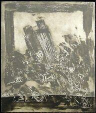 Kjeld Ulrich, Ltd Ed. Abstract Color Engraving Denmark Listed Artist Artwork OBO