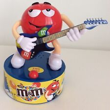 M&M's Official product, Red M&M Playing Guitar. Dances to music. Excellent cond
