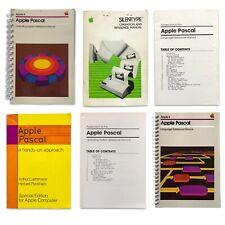 1980 Apple II Pascal Operating System Preference Manual Box Set NO DISKS