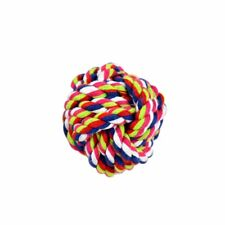 Dog Teddy Chew Knot Toys Pet Puppy Teeth Bear Braided Training Tough Strong Rope S (5cm Dia.)