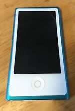 Apple iPod Nano touch 7th Generation Blue 16 GB Used, As-IS parts or repairs