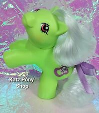 HQG1C Custom G1 MLP Style Playful Baby Pony 💜 NIPPER 💜 w Accessories! GREEN