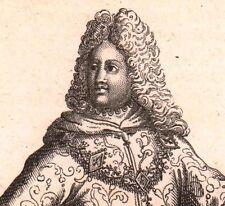 Ordre Militaire de la Cosse de genêts Charles VI de France Chevalerie 1721
