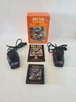 1978 Atari 2600 Indy 500 CIB w/ 2 Paddles, Game, Box, Manual CX2611-1, Complete
