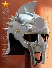 Medieval Helmet of the Spaniard Maximus Roman Gladiator 18 Gauge
