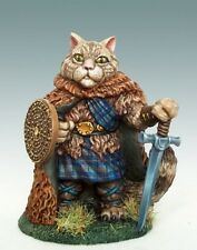 Dark Sword Miniatures Scottish Wildcat Warrior DSM 8006 Pewter Shield Unpainted