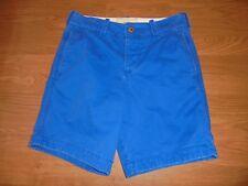 Hollister blue flat front shorts size 28 Back 2 School
