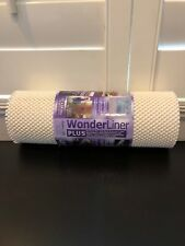 Wonderliner Grip 12-Inch x 15-Foot Ultra Shelf and Drawer Liner in Ivory NEW!!!