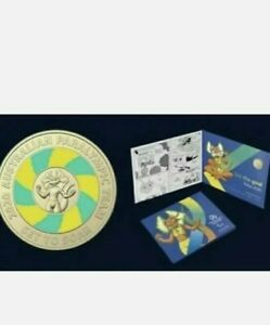 Woolworths 2020 Paralympic $2 Coin .pre order.