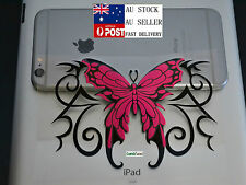 Butterfly Car Windows Vinyl Sticker Decal Ute Laptop iPad Truck Red 13cm