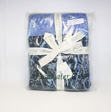Coldwater Creek Blue Floral Essence Throw New