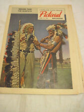 1948 WORLD SERIES CLEVELAND INDIANS CLEVELAND PLANE DEALER PICTORIAL MAGAZINE